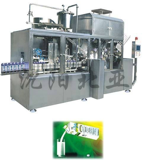 fully automated milk filling machine