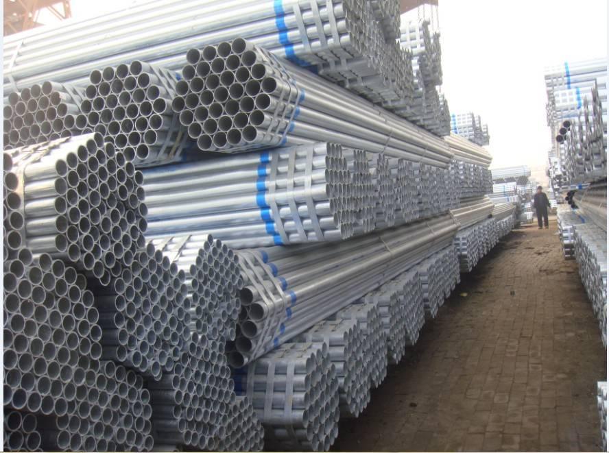 BS1387 Hot dip galvanized steel pipe