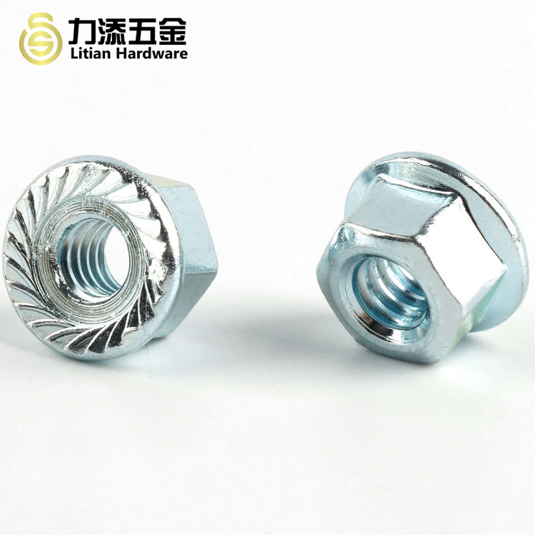 factory cheap price metal machine M7 Flange Nuts