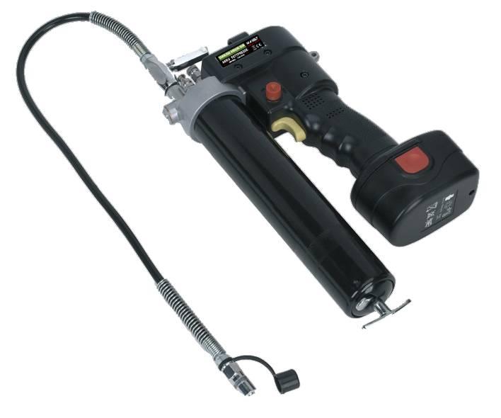 12V Smarownica akumulatorowa, cordless grease gun