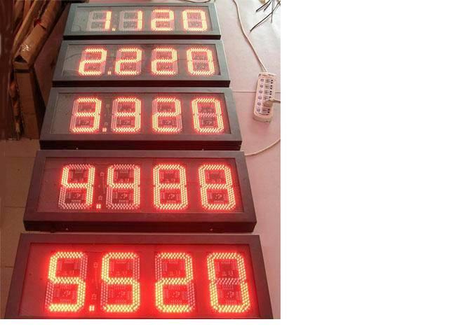 led fuel display