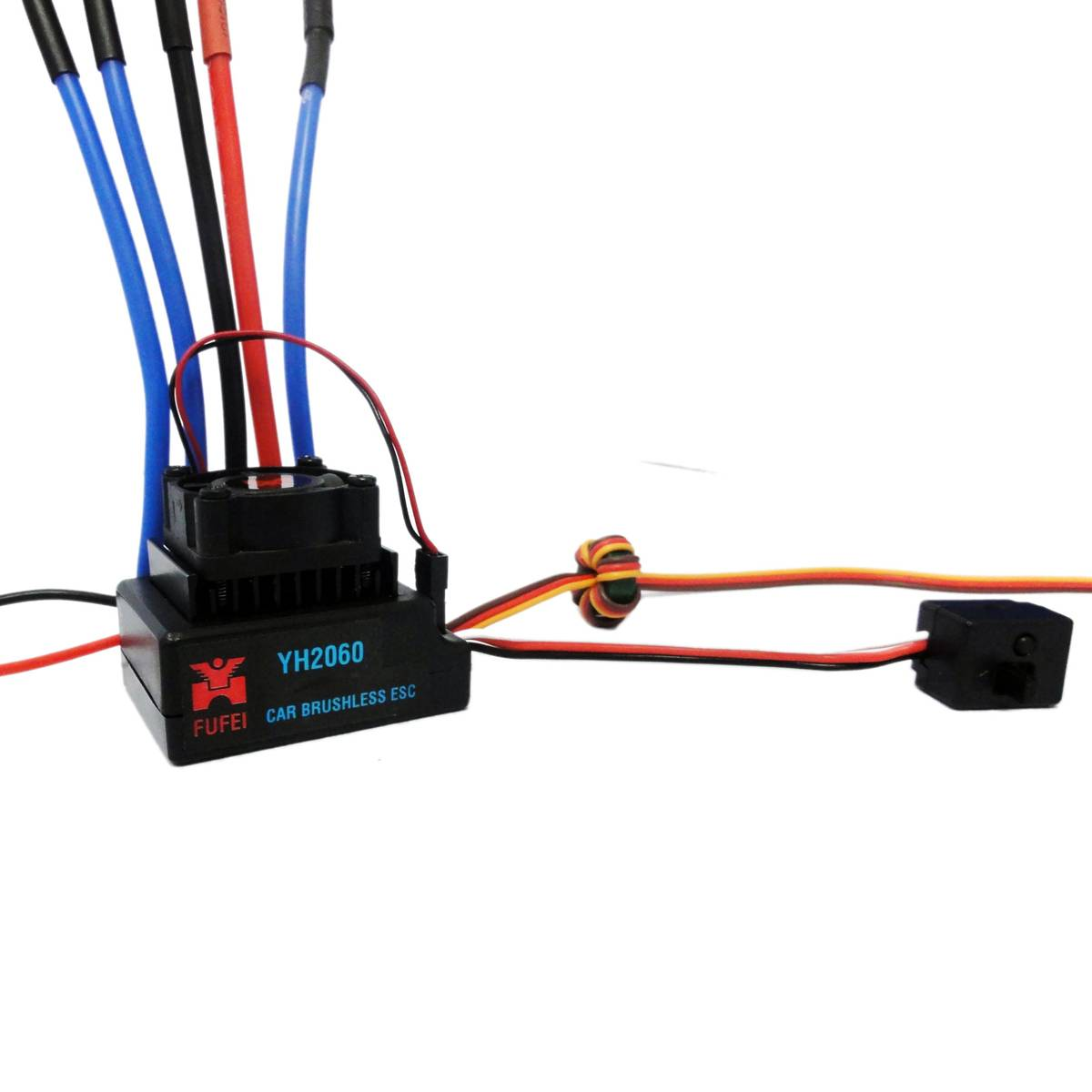 60a brushless car esc for 1 10 scale car