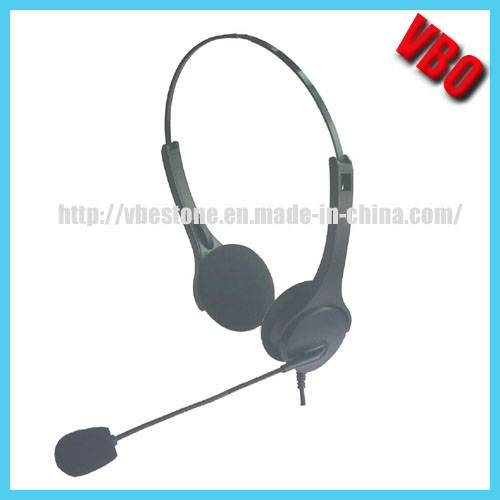 OEM/ODM Call Center Rj Headphone for Telecommunication