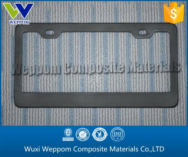 Cheap Carbon Fiber Car License Plate Wholesale