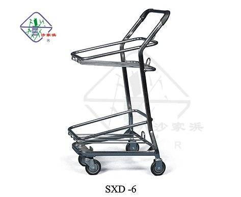 cart for hand basket/ cart for basket/ shopping basket cart/ hand basket cart