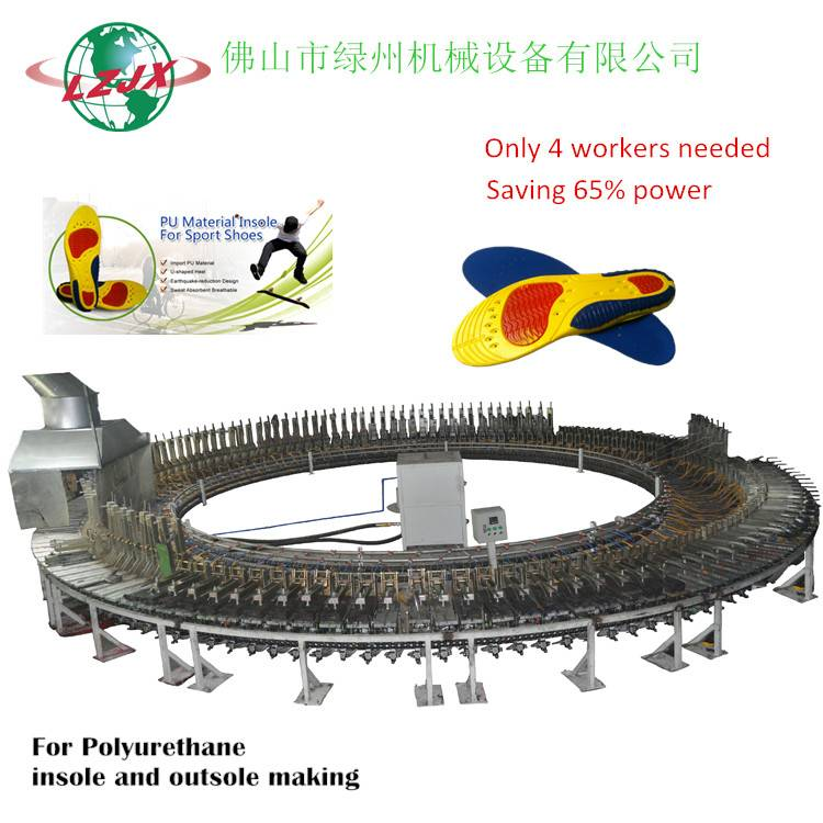 Saving 65% Power for youAutomatic PU SHOE MOULD,PU SHOE MACHINE