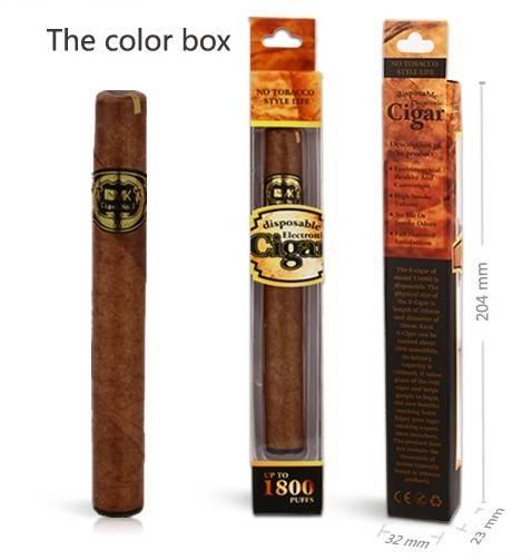 Newest Disposable Electronic Cigarette E Cigar, Reach 1800puffs