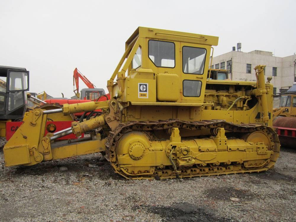 used crawler bulldozer cat D8K
