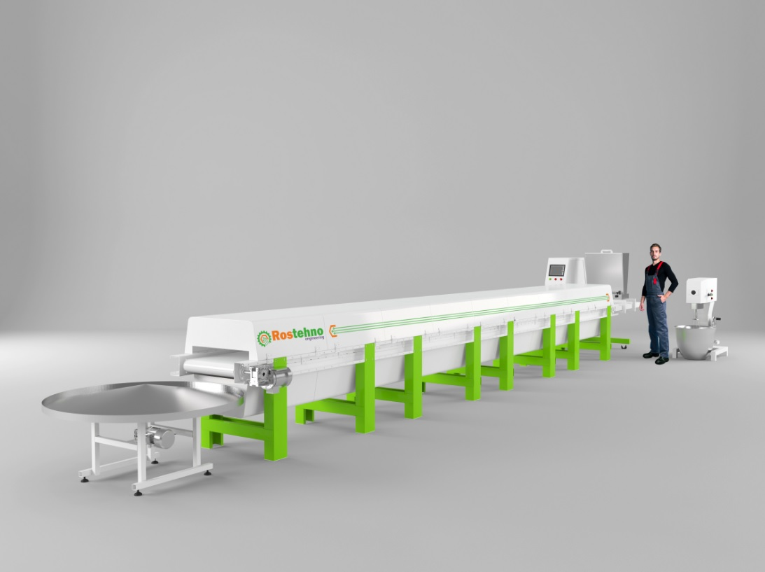 SELL COOKIES PRODUCTION LINE ROSTEHNO COOKIES SPL-500