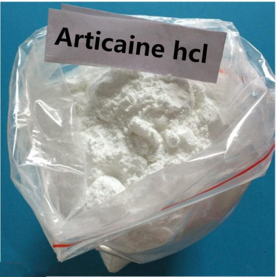 Top quality Local Anesthetic Powder Articaine hydrochloride Hcl Powder CAS 23964-57-0 Factory Price