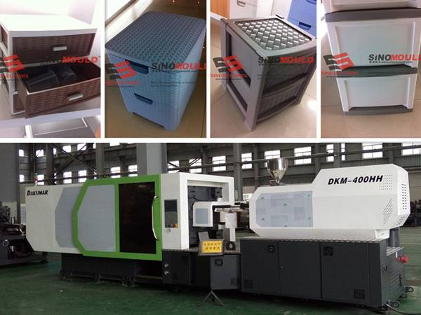 Plastic drawer mould supply
