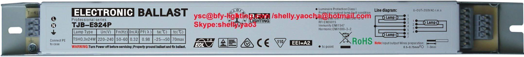 electronic ballast 14w