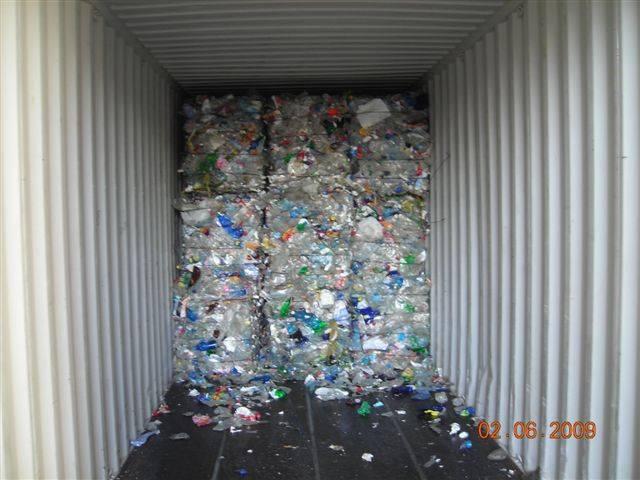 PET Bottles scraps
