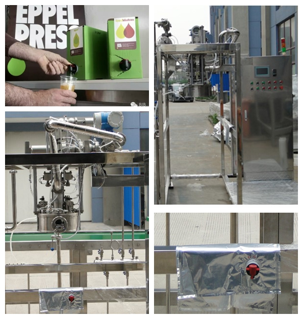 Automatic single head aseptic bag filling machine