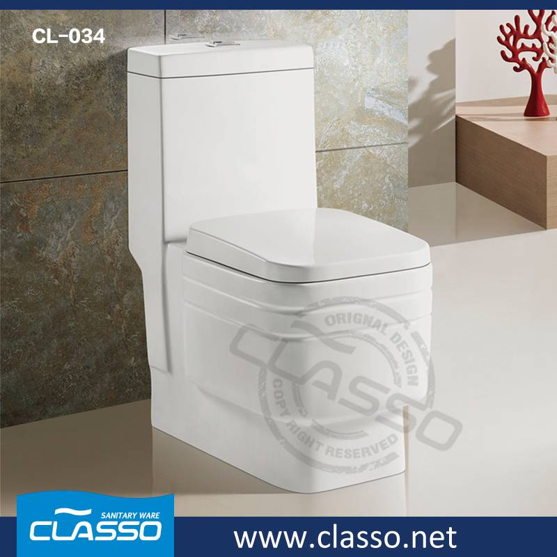 Hot sale New design siphonic one piece toilet CL-034