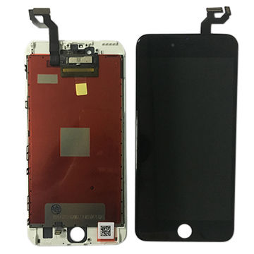 LCD digitizer screen assembly for iPhone 6S Plus, black, white