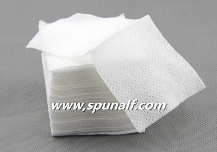 Lint Free Spunlace Nonwoven Rags Skin Care Wipes Individual Pack