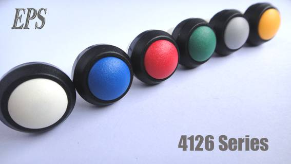 Waterproof push button switch IP67 level