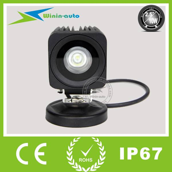 2 10W LED Auto Work Light for cars ships 800 Lumen WI2103