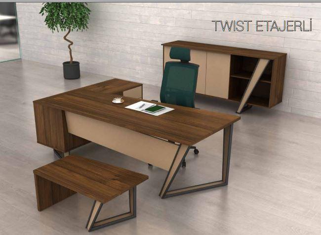 Elegant Design Executive Group And Commercial Office Desk Set