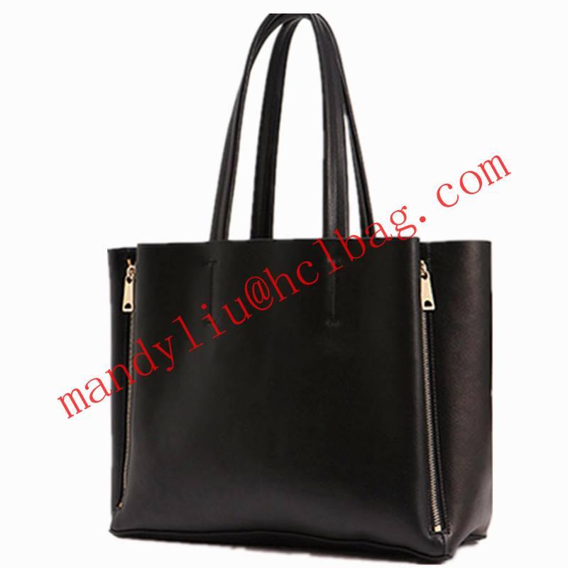 faux leather pu lady handbag