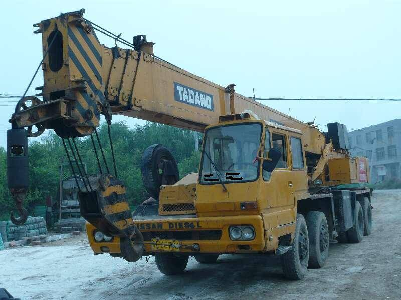 35ton mobile crane hydraulic crane of high quality