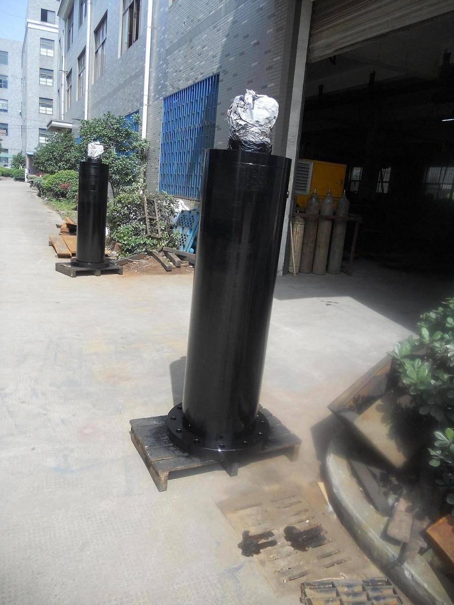 construct hydraulic cylinder big rod size cylinder bore piston cylinder