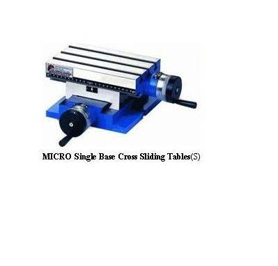 Micro Single Base Cross Sliding Tables (Single)
