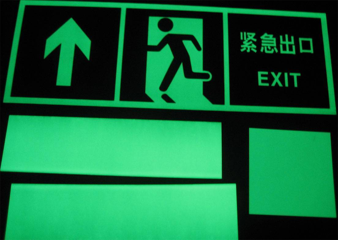 Supply Photoluminescent Safety Signs