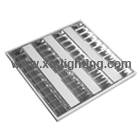 T5 4x14w Recessed type recessed louver fixture