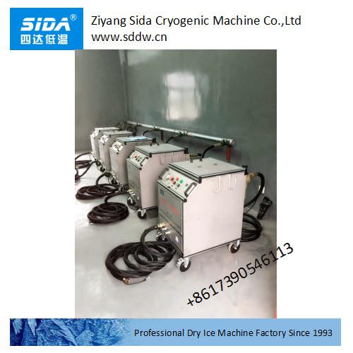 sida factory powerful standard dry ice blasting machine kbqx-30dg