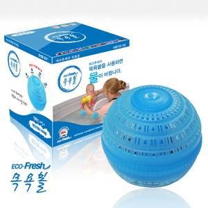 Ecofresh shower ball, washing ball, soap, laundry ball