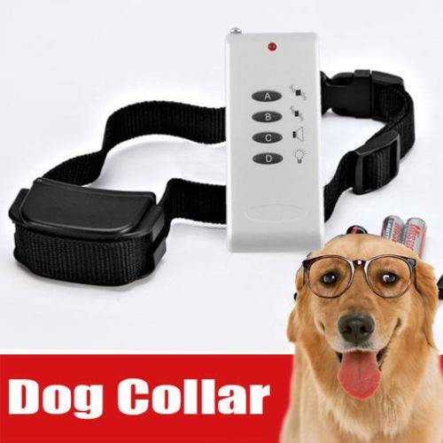 2 level vibration dog training collar