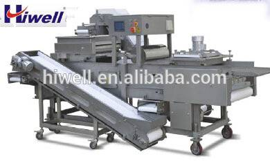 patty burger Japanese Fresh Breading Machine for food factoryXXJ600-V