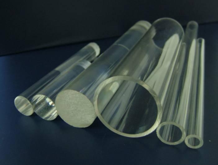 acrylic tube and rod