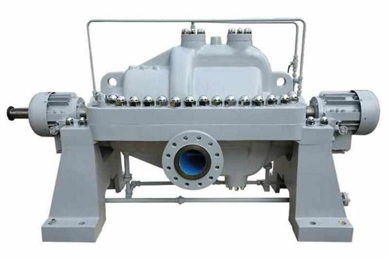 API610 BB3 axially split volute horizontal multi-stage centrifugal pump