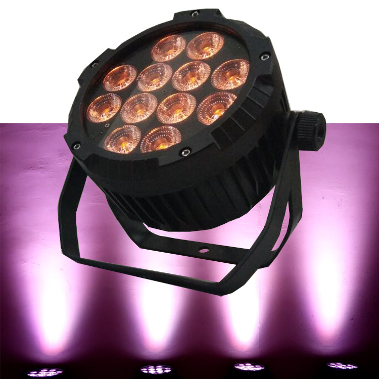cheap China RGBWA+UV outdoor light,IP65 led par light,waterproof led par64,China stage light