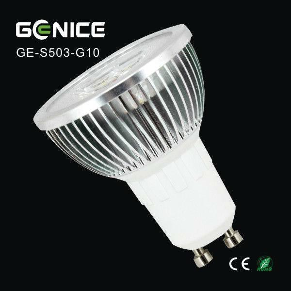 3x1W GU10 mini LED spots