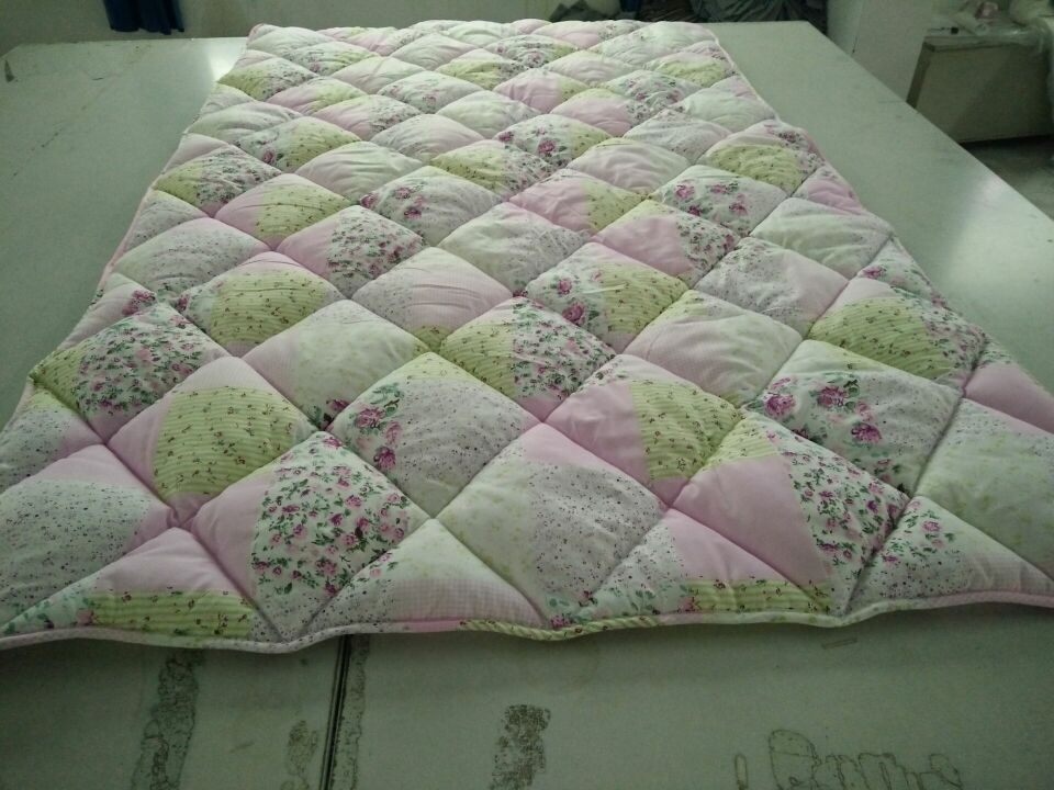 pigment printed polyester quilt