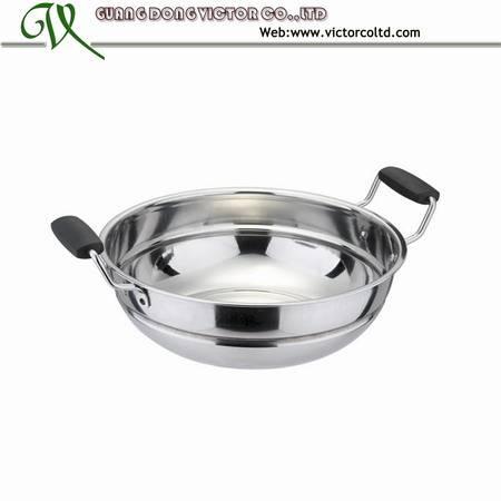 Stainless steel steamer pot