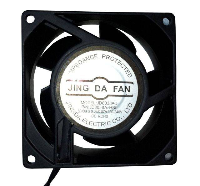 cooling fan for instrument