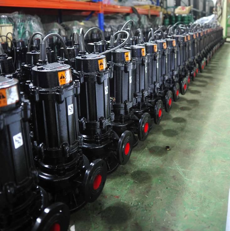 2inch 4KW raw sewage pump for sludge transfer submersible 5.5 hp sewage pump