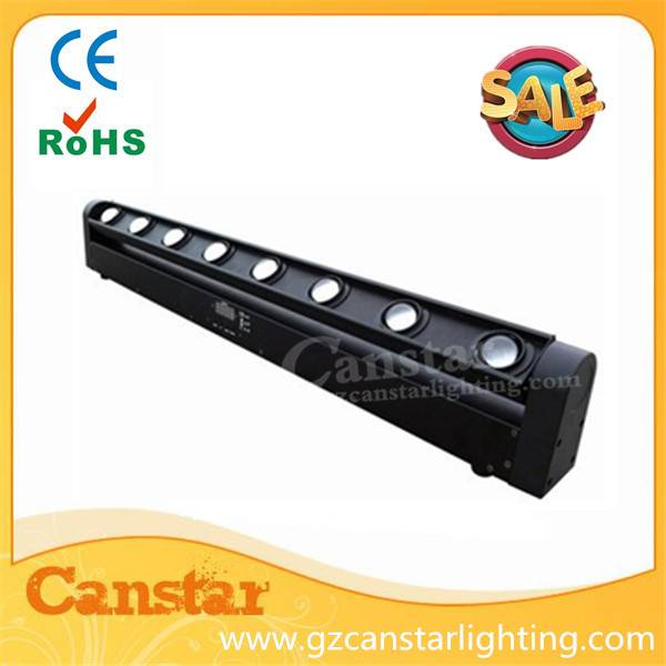RGBW 8x10w led beam bar light