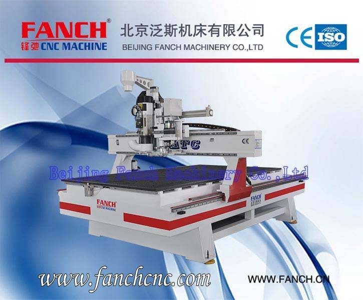 Offer Light Gantry Moving Machining Center Wood Cutting/Drilling/Engraving Machine