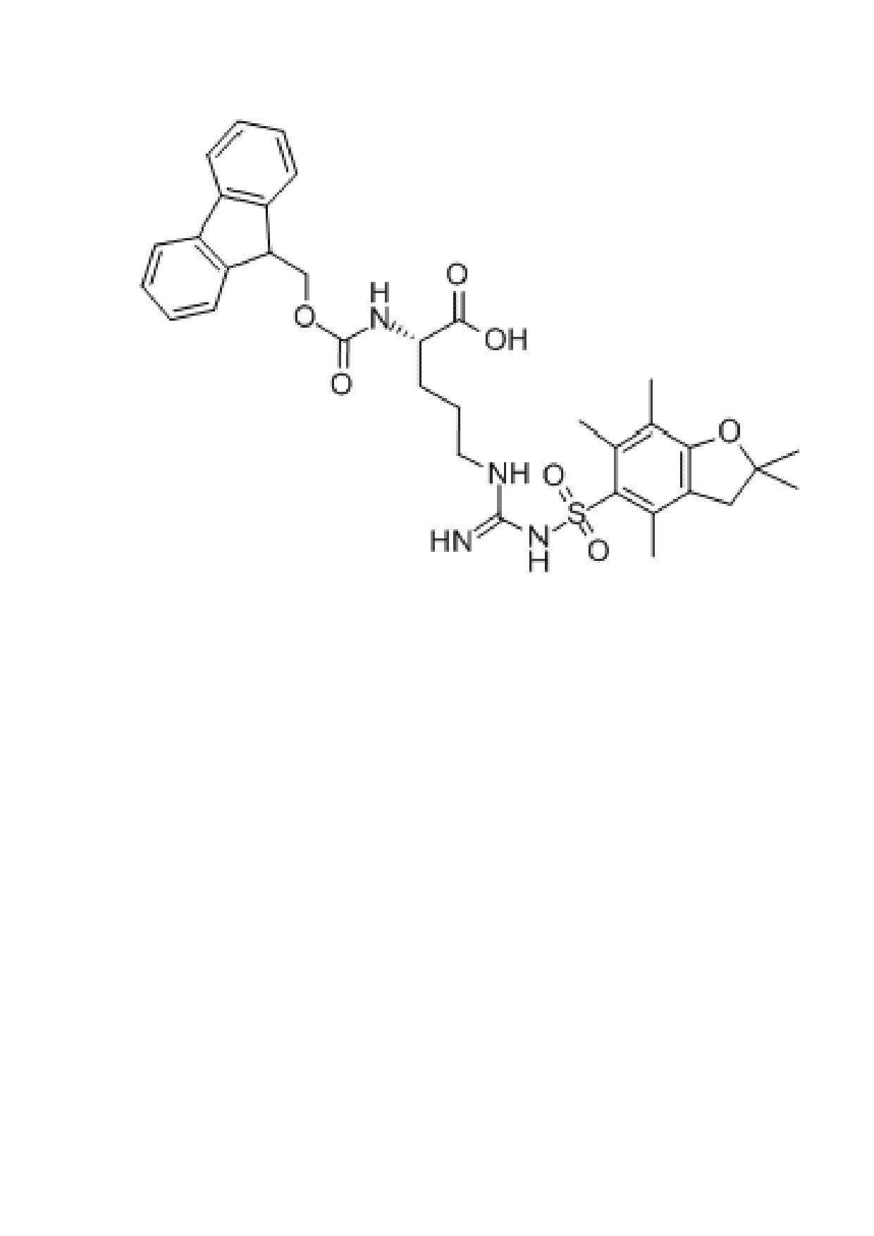 FMOC-Arg(Pbf)-OH, CAS NO: 154445-77-9
