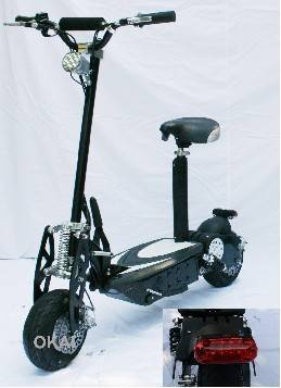 Sell 300W-800W EVO scooter with EEC