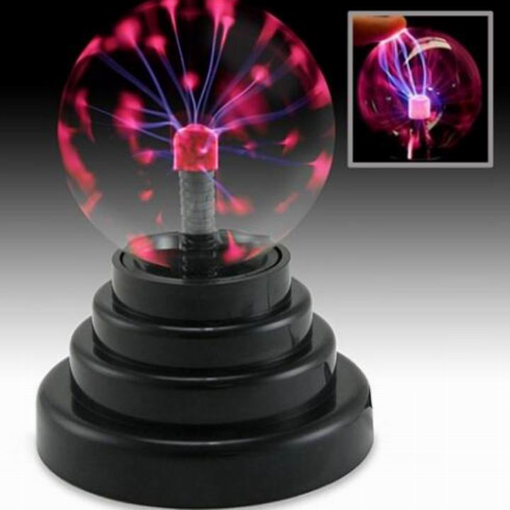 Christmas Or Party Decoration Amazing 3 Inch Plasma Ball Lamp Pass CE RoHs