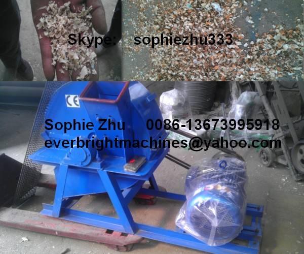 Wood Shaving Machine, Wood Crushing Machine
