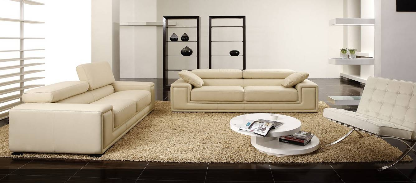 home leather sofa