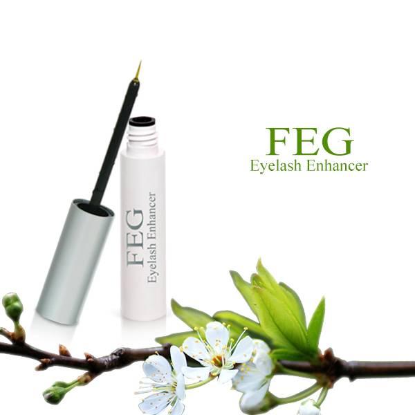 100 % natural feg eyelash enhancer